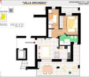 APPARTAMENTO ORCHIDEA 4-B