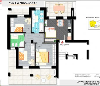 APPARTAMENTO ORCHIDEA 5-A